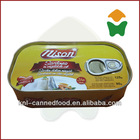 125g canned sardine in oil 125gX50tins