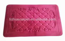 Popular soft Anti-slip memroy foam bath mat