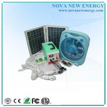 Chinese Portable 10/20w Mini Solar power System, run laptop, bulb, tv