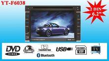 New arrival car radio 2 din car dvd/Universal 2 din 6.2 inch car dvd player