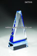 china supplier Obelisk of Success Elite Crystal souvenirs trophy