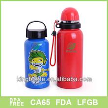 Attractive bpa free high quality sport water aluminium bottle