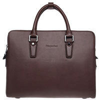 2014 winter fashion famous men leather handbag made in China