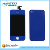Dark blue for iphone 4 front lcd and back cover assembly complete