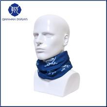 2014 GZQW-87 multifunction Male mannequin head for scarf made in Guangzhou QianWan Dispalys