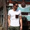 plain cotton t-shirt with pocket