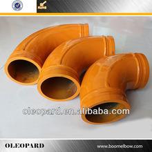 Concrete Casting Pipe Elbow, Putzmeister Pipe Bend, Concrete Pump Pipe
