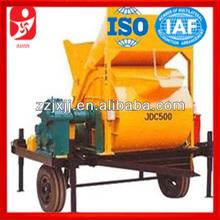 JDC 500 single-shaft concrete mixers sale in alibaba website