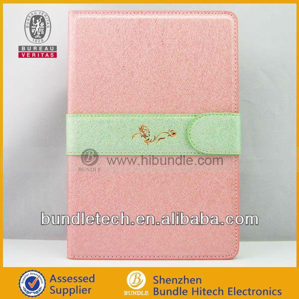 For ipad case with auto sleep wake function, elegant tablet case for ipad mini