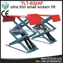 Car Lift/High Performance Launch 100% TLT632AF Ultra-thin Small Scissor Lift for Light Vehicles