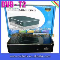 Africa Cheap Mini Fta Dvb-t2 Decoder With Hd Outport, USB PVR Recording 7 Day EPG Digital TV Reveiver