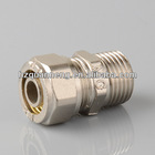 high quality male union of brass material