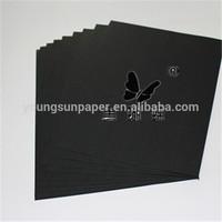 Paper black popular black kraft liner paper