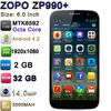 "Mobile Phone with 6.0"" MTK6592 Octa Core 1920*1080P 1.7GHz Android 4.2 2GB RAM 32GB ROM 3000mAh 14.0MP ZOPO ZP990+ Mobile Phone"