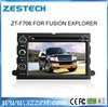 ZESTECH digital touch screen car radio gps 2din navigation for Ford Fusion Explorer