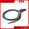 Carbonized all kinds of wooden snake toys,lifelike cobra snake toy,handmade ugly toy animal