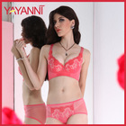 Push Up Sexy Bra And Panty New Design With With Embroidery For Women.Cup B/C/D