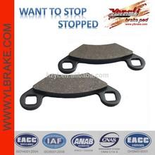 Durable atv brake pads for CF MOTO