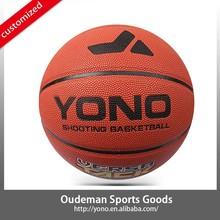 custom leather pu basket ball factory YONO branded wholesale basketball OEM service