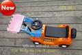 سويتي جميلة سيارة لعبة من البلاستيك الطفل ووكر على ركوب سيارة إطفاء 803