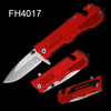 Anodized Aluminum Handle Survival Folding Knife
