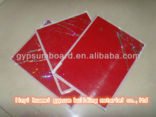 595*595*7.5 mm PVC gypsum ceiling board / lasted products/ roof decoration
