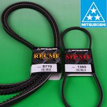Raw edge cogged belt auto v belt transmission belt for kinds of automobile.