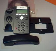 Polycom IP330 P/N# 2200-12330-025 2line VOIP desk telephone