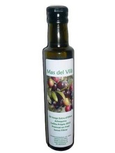 250 cc. Glass Bottle Extra Virgin Olive Oil, Gourmet Quality.