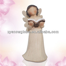 Polyresin fashion angel figurines