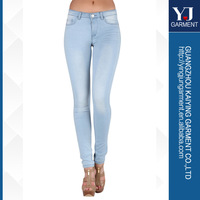 Ultimate Soft Skiny Litght Bule Denim Ladies Jeans