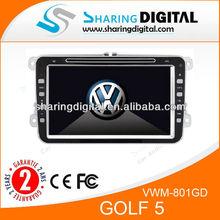 VWM-801GD Support blue&me volkswagen golf car dvd car radio gps navigation