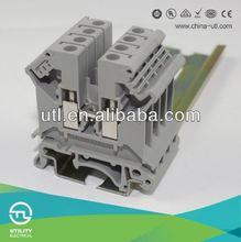 universal de tornillo del bloque de terminales de la abrazadera cierres