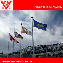 Aluminium motorized flagpole