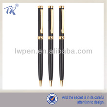 Polish High Grade Twist Slim Metal Ballpoint Hotel Pen