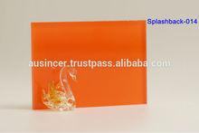 Furniture glass splashback