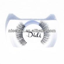 China Qingdao popular false eyelash wholesale can do customer package