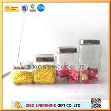Com tampa de metal vasilha de vidro SJ-9602