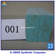 Lab Created Turquoise Rough for sale