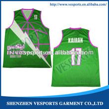 professinal sublimation jersey basketball
