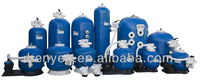 Water treatment sand filter pool filteration device used pool sand filter for sale