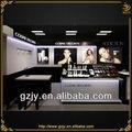 Venta al por mayor de cosméticos mac exhibición de la tienda, maquillaje de escaparate de la exhibición