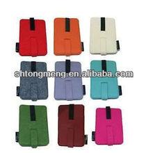 Exquisite Felt Handphone Bag Holder Card Case Container Storage Pouch 1pc