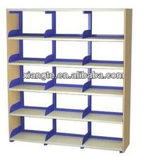Scuola libreria mobili classico in acciaio scaffale/scaffali in acciaio