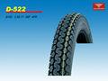 Ventas al por mayor nuevo ciclomotor neumáticos 2.50-17 6pr/8pr frente/raras con buena calidad