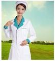 branco enfermeira uniforme uniformes médicos esfrega reina set