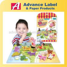 DIY Kids toy Educational toy Mini 3D Animal Activity Kit Animals 3d Puzzle