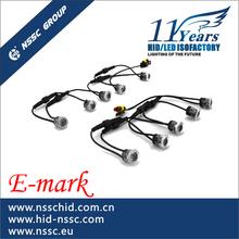 E-mark&CE&ROHS certification NSSC new design DRL led headlights,hiway daytime running light