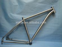 Titanium mountain bike road frame performance MTB bicycle frame