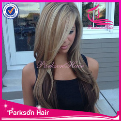 Popular style new hair products natural color human hair wave 8-26inch high quality halloween wigs